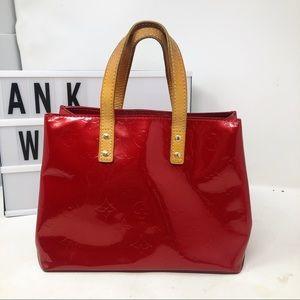 Louis Vuitton Reade PM monogram vernis tote bag